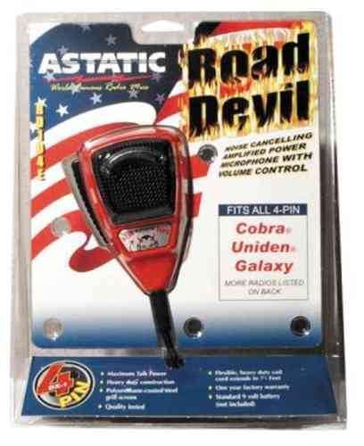 ASTATIC RD-104E-4-B ROAD DEVIL Handmikrofon