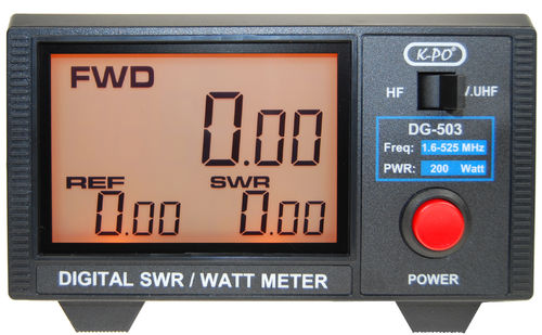 K-PO DG-503 SWR/Watt Meter digital
