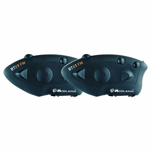 MIDLAND BTX1 FM Twin,Bluetooth Headset