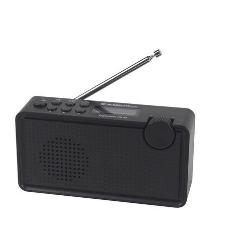 Albrecht DR 62 tragbares Digitalradio, DAB+/UKW